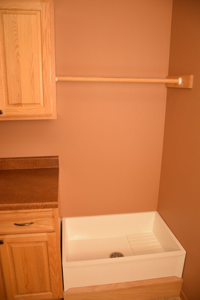 One Room Challenge ORC Week 1 Mudroom Laundry Room Before Dog Wash