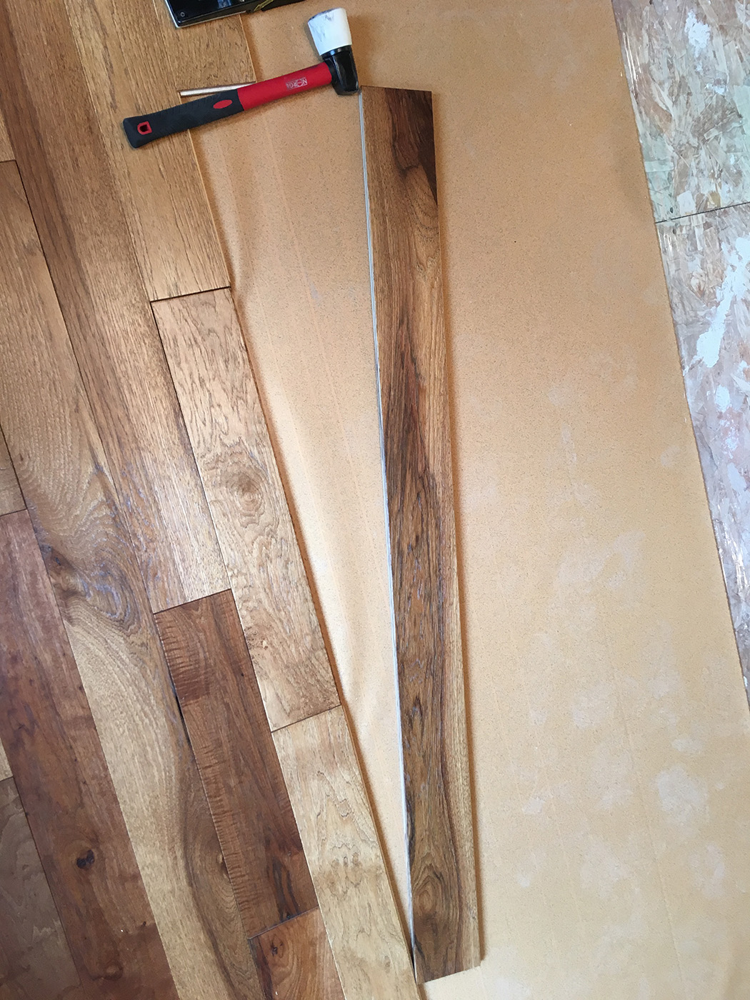 Hardwood Flooring progress wood floor board selection