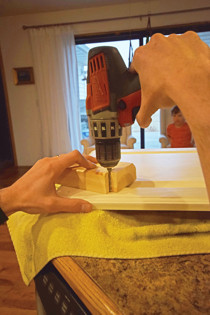 Mudroom Cabinet Doors Drilling Holes Hardware Pulls