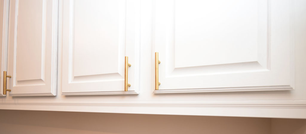 Mudroom Cabinet Upper Door Hardware Pulls